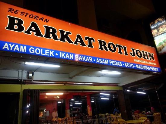 best food in melaka barkat original roti john asli