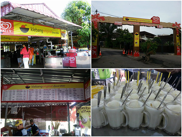 best food in malacca - klebang original coconut shake