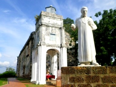 Historical Attractions in Malacca St Paul's Church