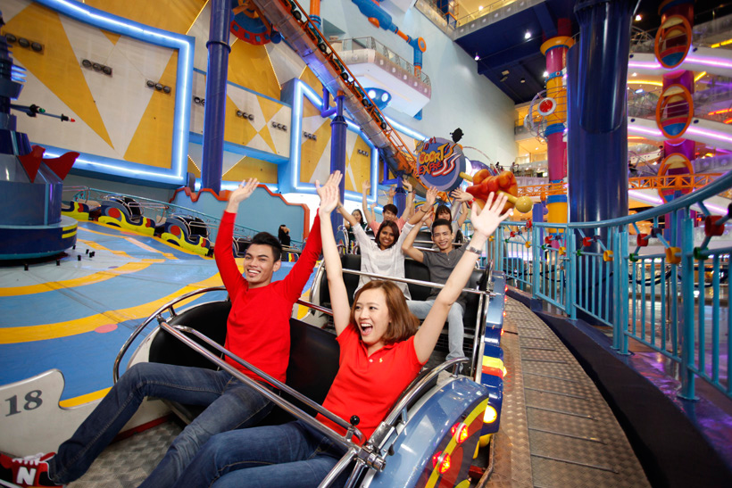 attraction in berjaya times square theme park