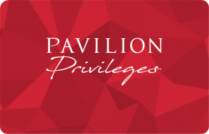 pavilion privileges card