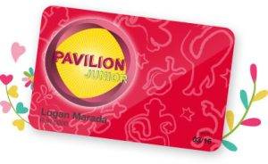 pavilion junior card