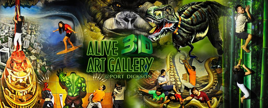 alive 3d art gallery port dickson