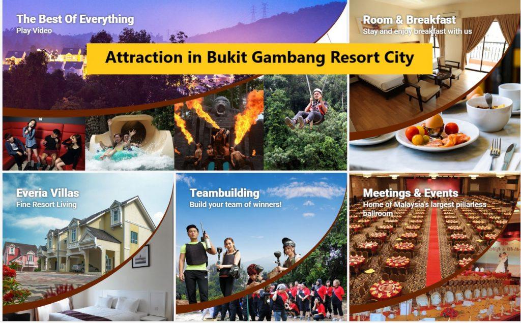 bukit gambang resort city