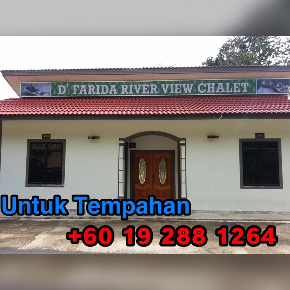 d'farida river view chalet