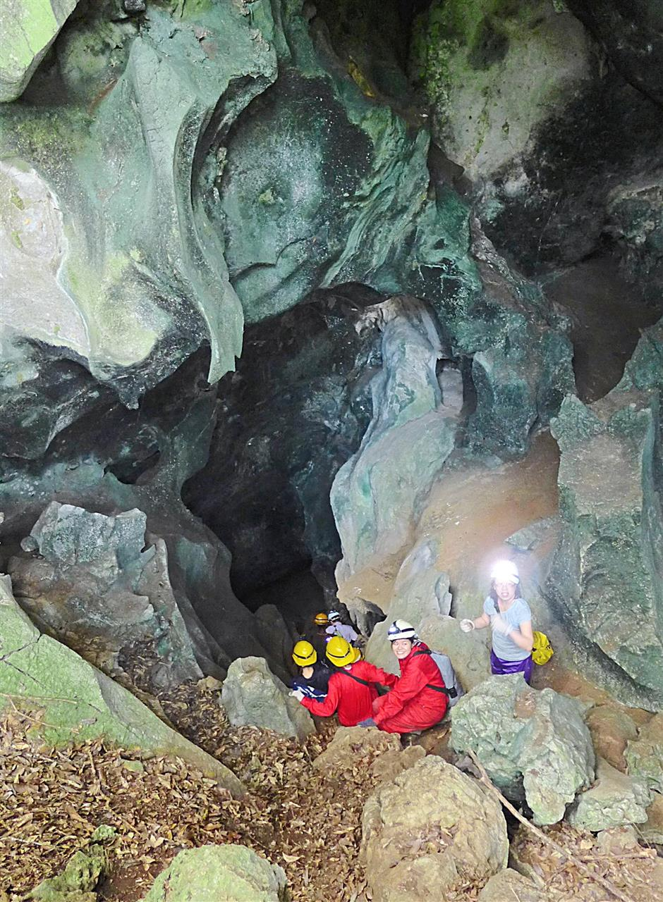 mysterious cave in jerantut