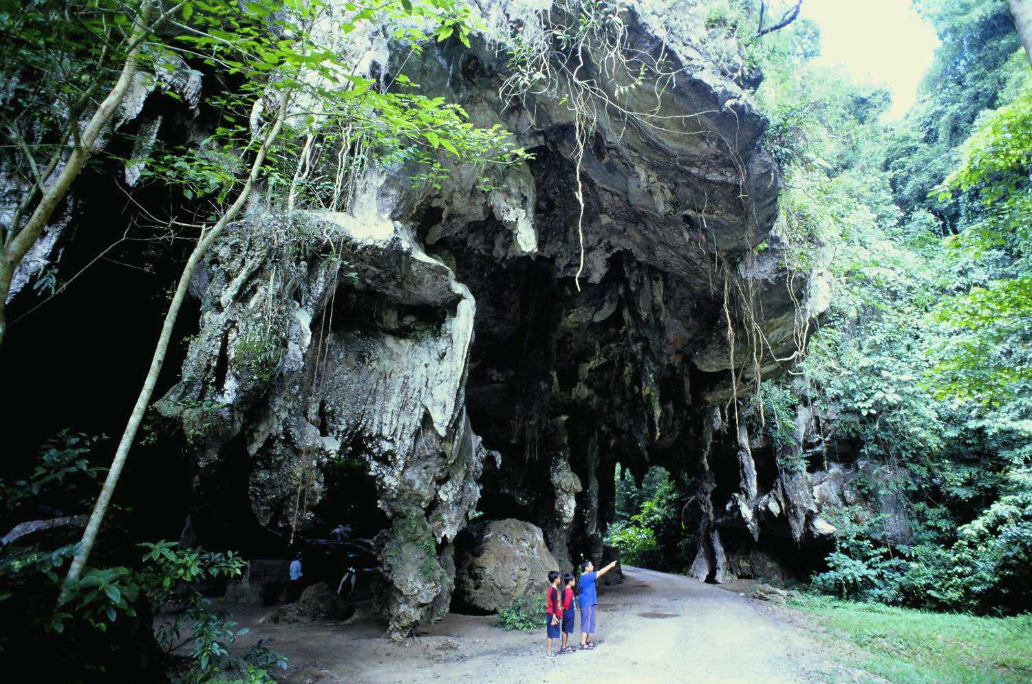 mysterious caves jerantut