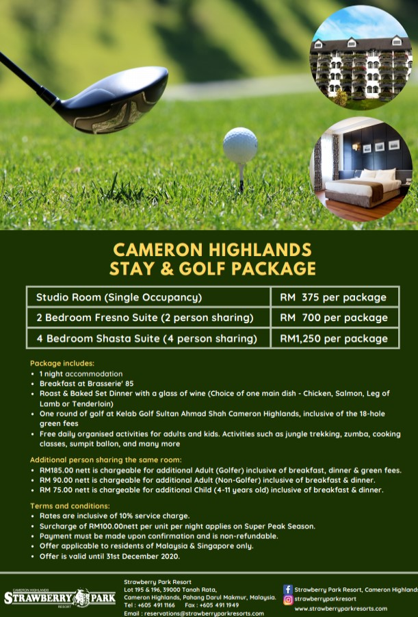 golf cameron highlands