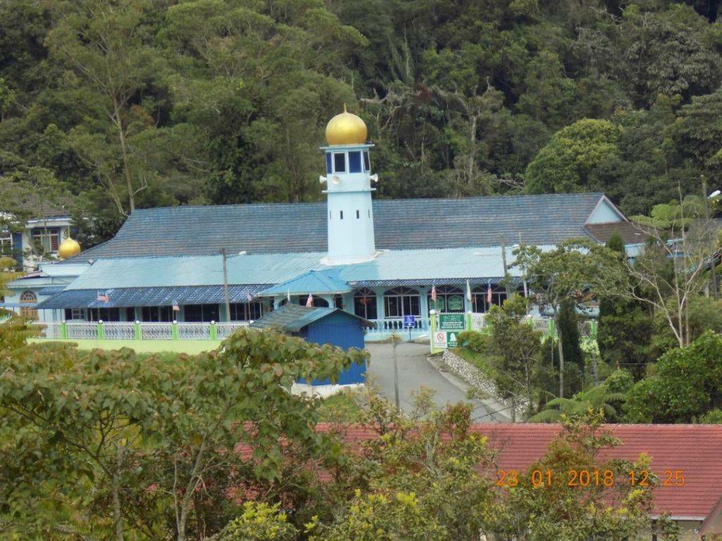 Masjid Daerah Cameron (Masjid Abu Bakar) Cameron Highland