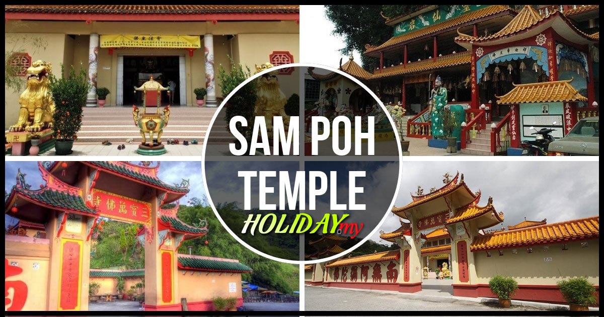 sam poh temple in cameron highlands