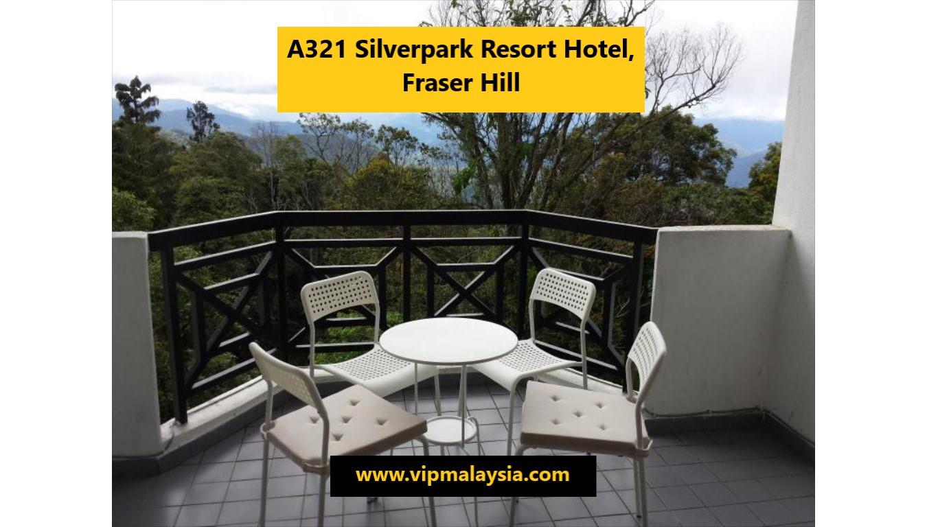 A321 Silverpark Resort Hotel Fraser Hill Pahang Malaysia