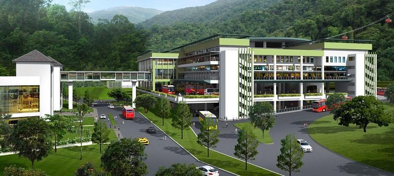 Awana SkyCentral Genting Highlands Pahang Malaysia Shopping Mall