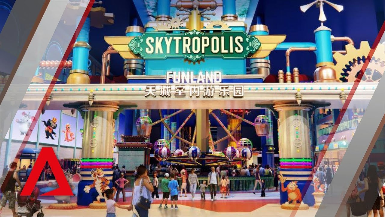 Skytropolis Genting Indoor Theme Park Genting Highlands