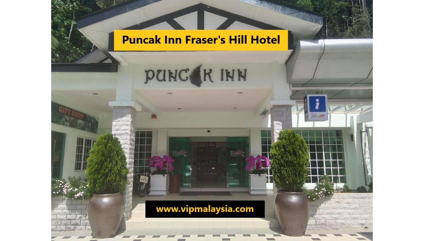 Puncak Inn Fraser's Hill : Best Hotel in Fraser Hill