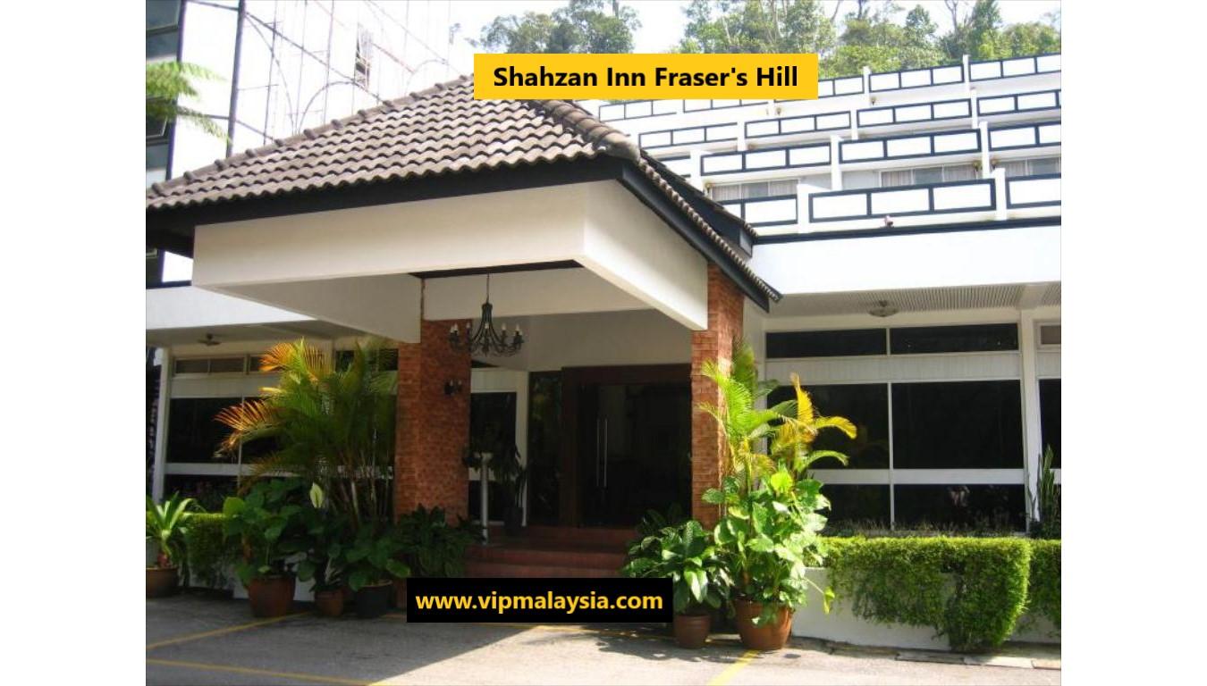 Hotel Shahzan Inn Fraser Hill Bukit Fraser