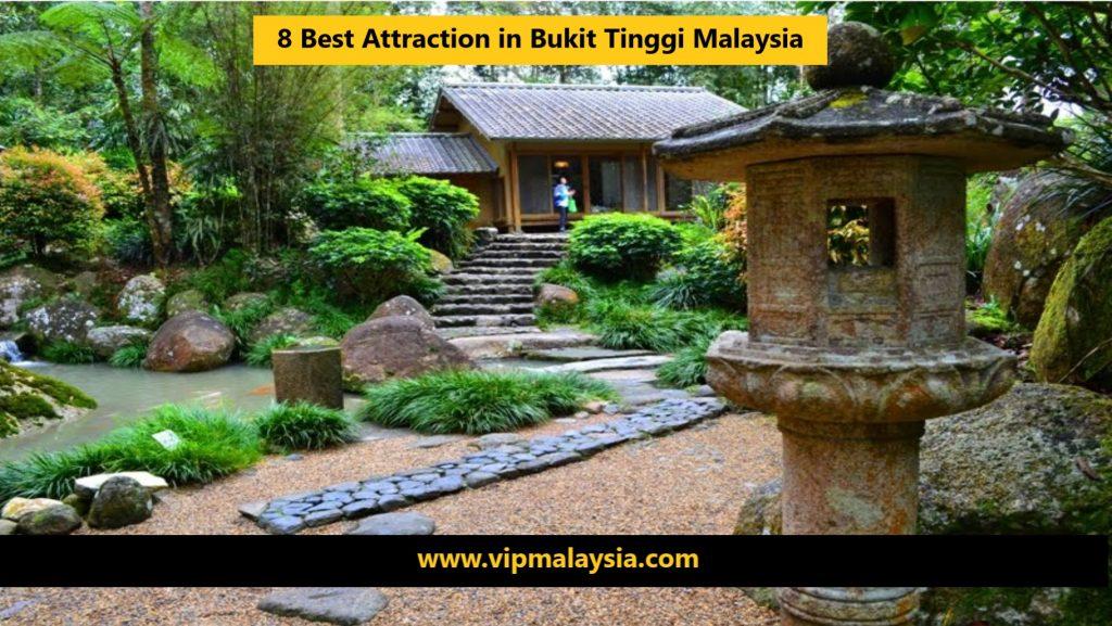 Attraction in Bukit Tinggi Malaysia