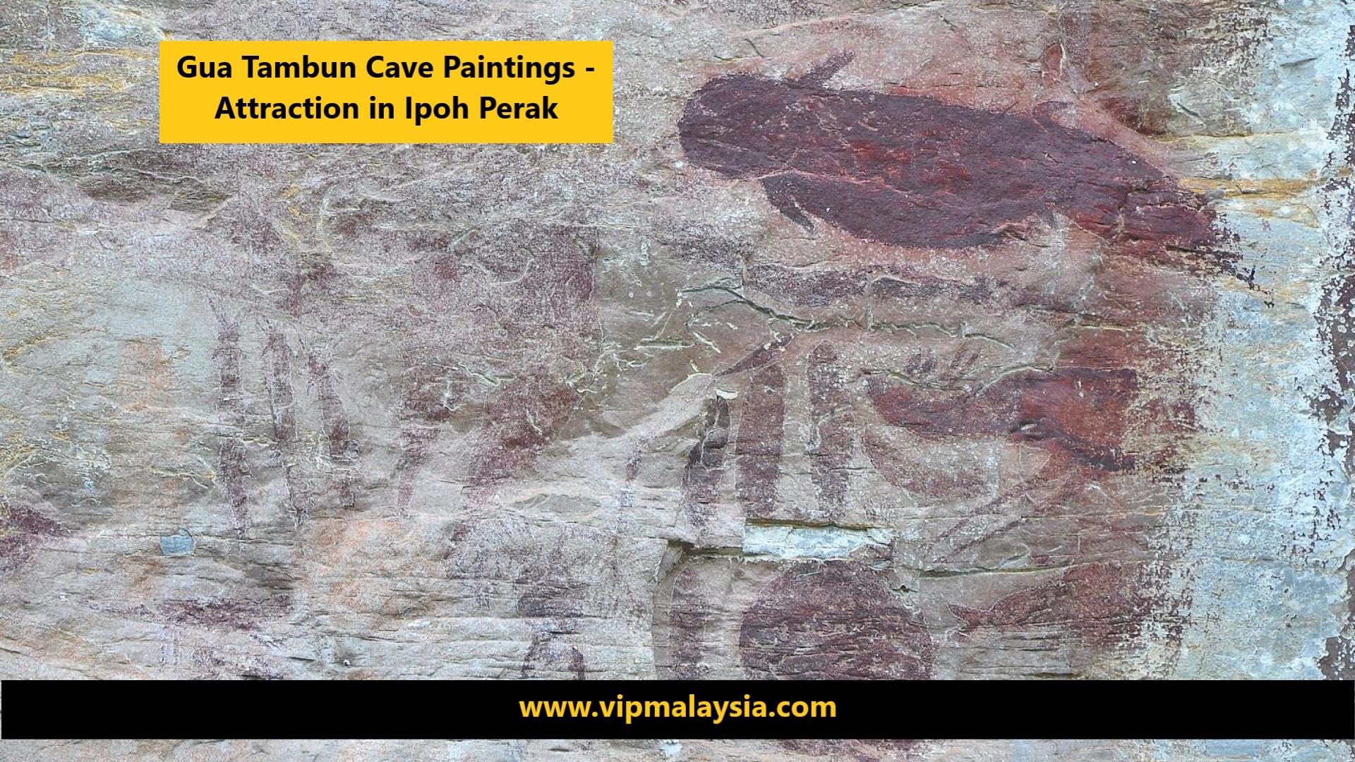 Gua Tambun Cave Painting Tourist Attraction in Ipoh Perak Malaysia