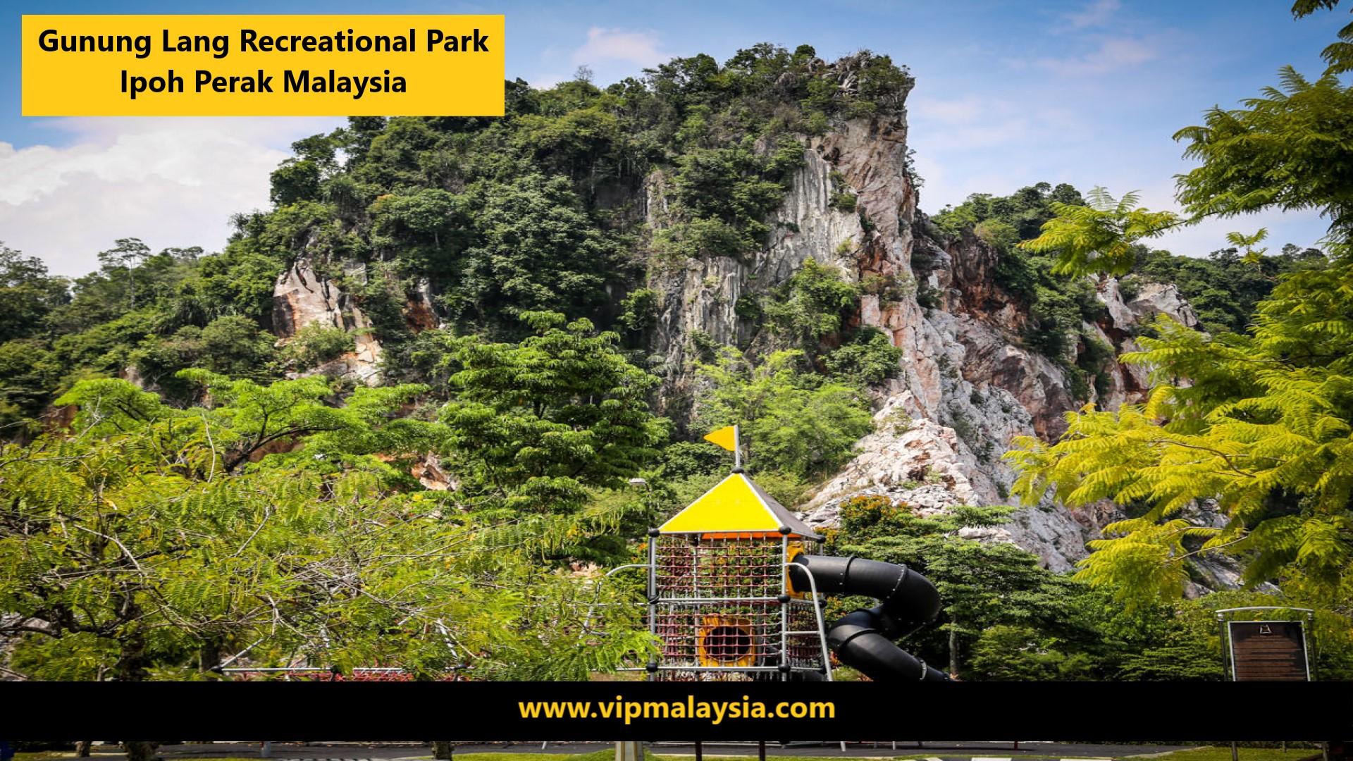 Gunung Lang Recreational Park Ipoh Perak Malaysia