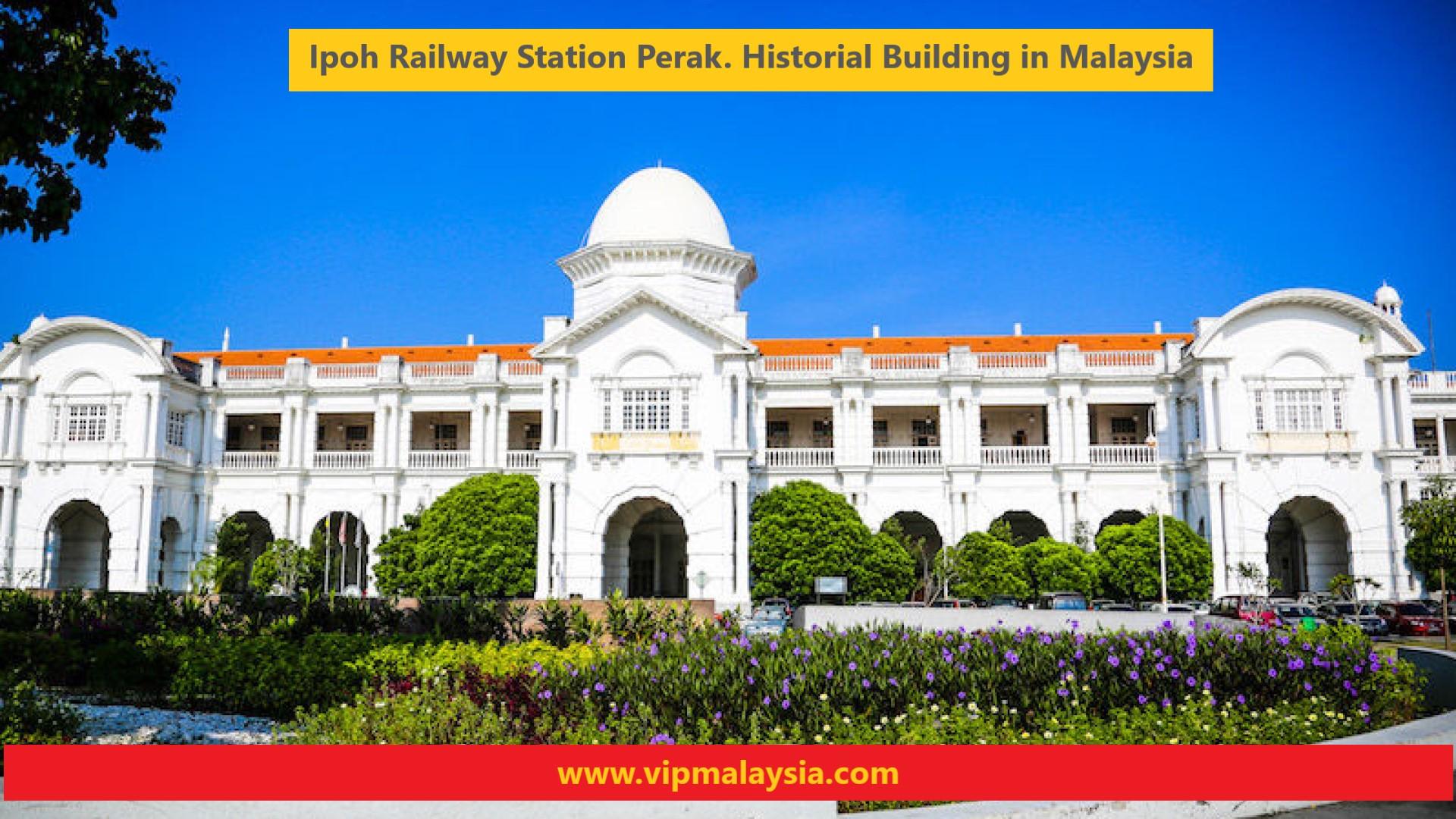 Stesen KTM Ipoh Railway Station Perak Malaysia