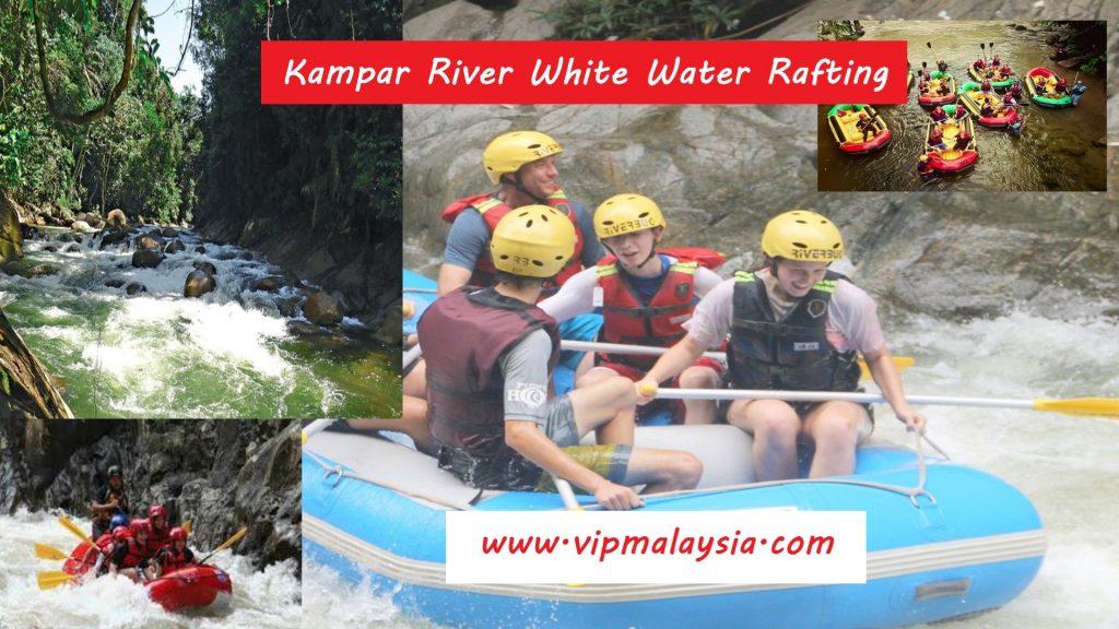 Kampar River White Water Rafting Perak Malaysia