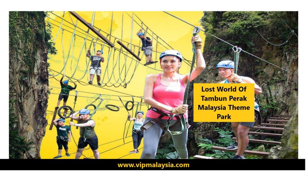 Lost World of Tambun Perak Malaysia Theme Park