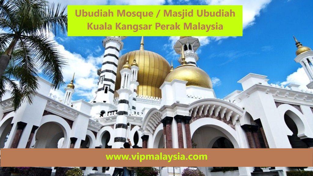 Masjid Ubudiah Mosque Kuala Kangsar Perak