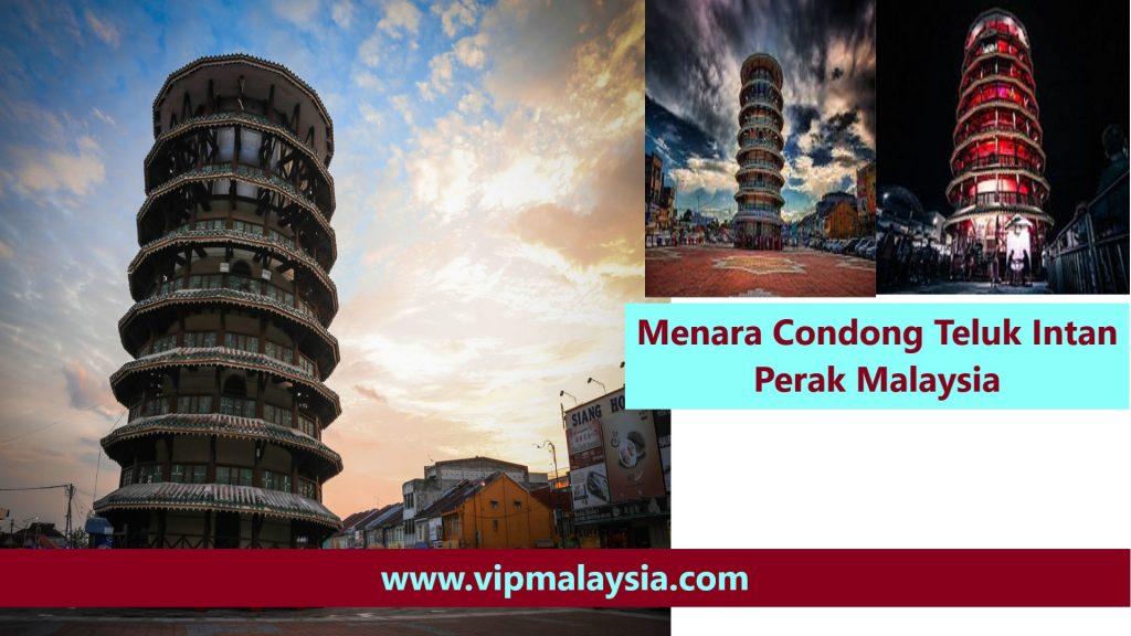 Menara Condong Teluk Intan Leaning Tower Perak Malaysia