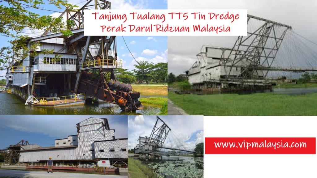 TT5 Tanjung Tualang Tin Dredge Perak Malaysia