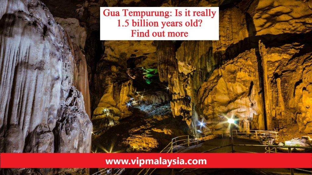 Gua Tempurung The Oldest Cave in The World