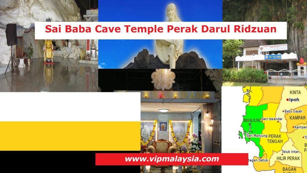 Tambun Sai Baba Cave Temple Sunway City Ipoh Perak Malaysia